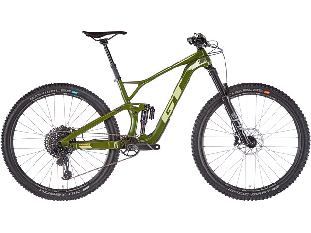 "GT Bicycles Sensor Carbon Expert 29"", gloss military green"
